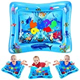 VATOS Kid Inflatable Tummy Time Water Play Mat Toys for Infants & Toddlers is Perfect Sensory Toys for Baby Early Development Activity Centers