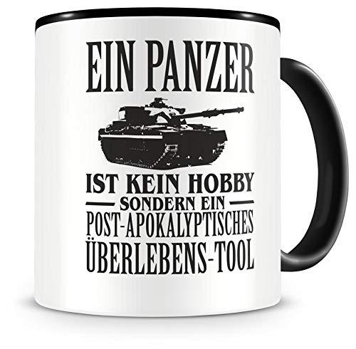 Samunshi® Ein Panzer ist kein Hobby Tasse Kaffeetasse Teetasse Kaffeepott Kaffeebecher Becher