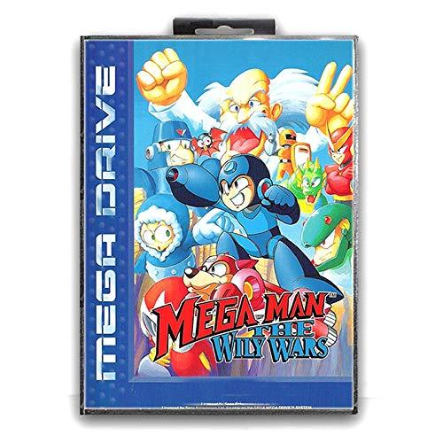 Jhana Mega Man the Wily Wars con caja para tarjeta de juego...