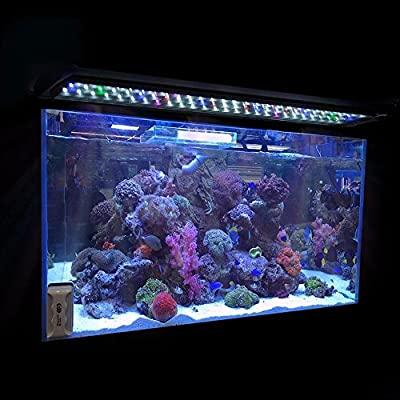 "0.5W 24""/36""/48"" Multi-Color LED Aquarium Light Full Spec Plant Fish Tank Lamp"