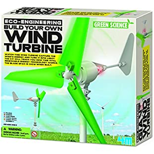4M 403378 Build Your Own Wind Turbine:Thecricketmaster