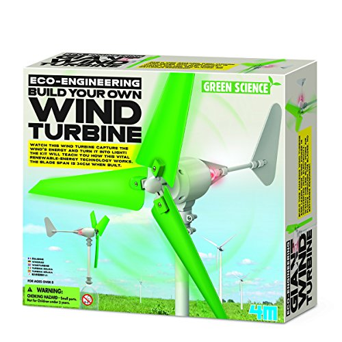 4M- Build Your Own Wind Turbine Ingenieria 00-03378