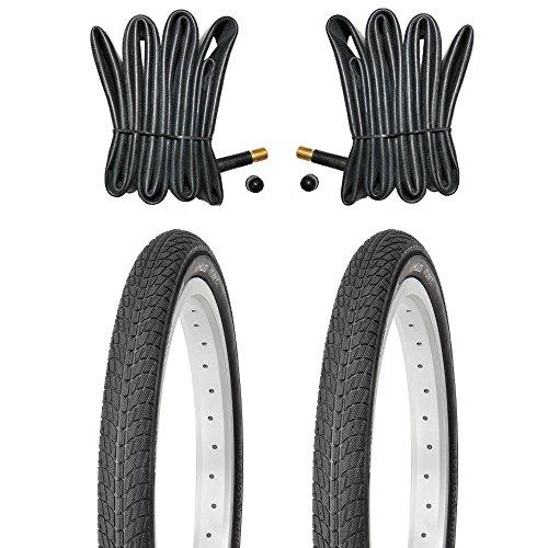 Kujo 2X 18 Zoll Reifen inkl. Schläuche mit Autoventilen