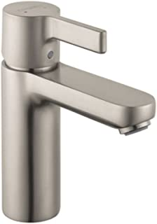 Hansgrohe 31060821 Metris S Single-Hole Faucet w/Glory Glaze Cleaner Polish, in Brushed Nickel