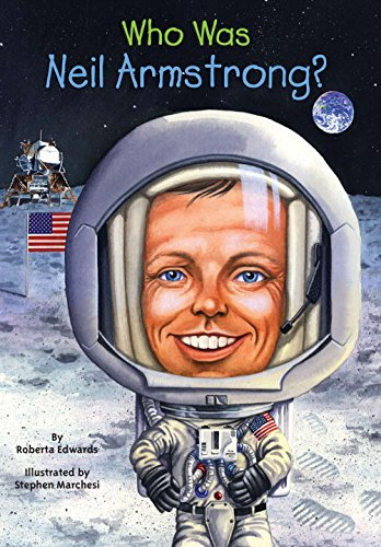 『Who Was Neil Armstrong?』のカバーアート