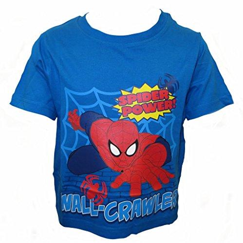 Spiderman Garçons T-Shirt âgés de 18-24 Mois