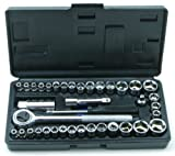 Rolson 36109 Socket Set - 40 Pieces