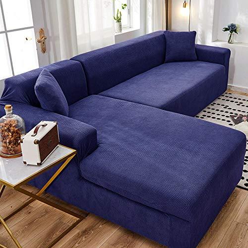 B/H 3 Plaza Funda de Sofá Elástico Cubierta,Funda de sofá Simple Universal, Funda de sofá elástica Universal-H_190-230cm,Funda sofá Duplex