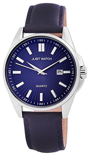Just Watch Reloj Analógico para Hombre de Cuarzo con Correa en Cuero JW20030-002