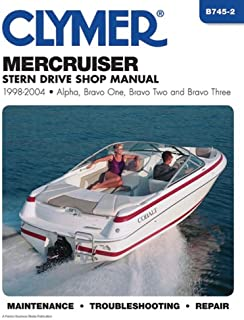 Mercruiser Stern Drive Shop Manual 1998-2004 (CLYMER MARINE REPAIR)