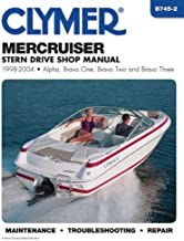 Mercruiser Stern Drive Shop Manual 1998-2004 (CLYMER MARINE REPAIR)
