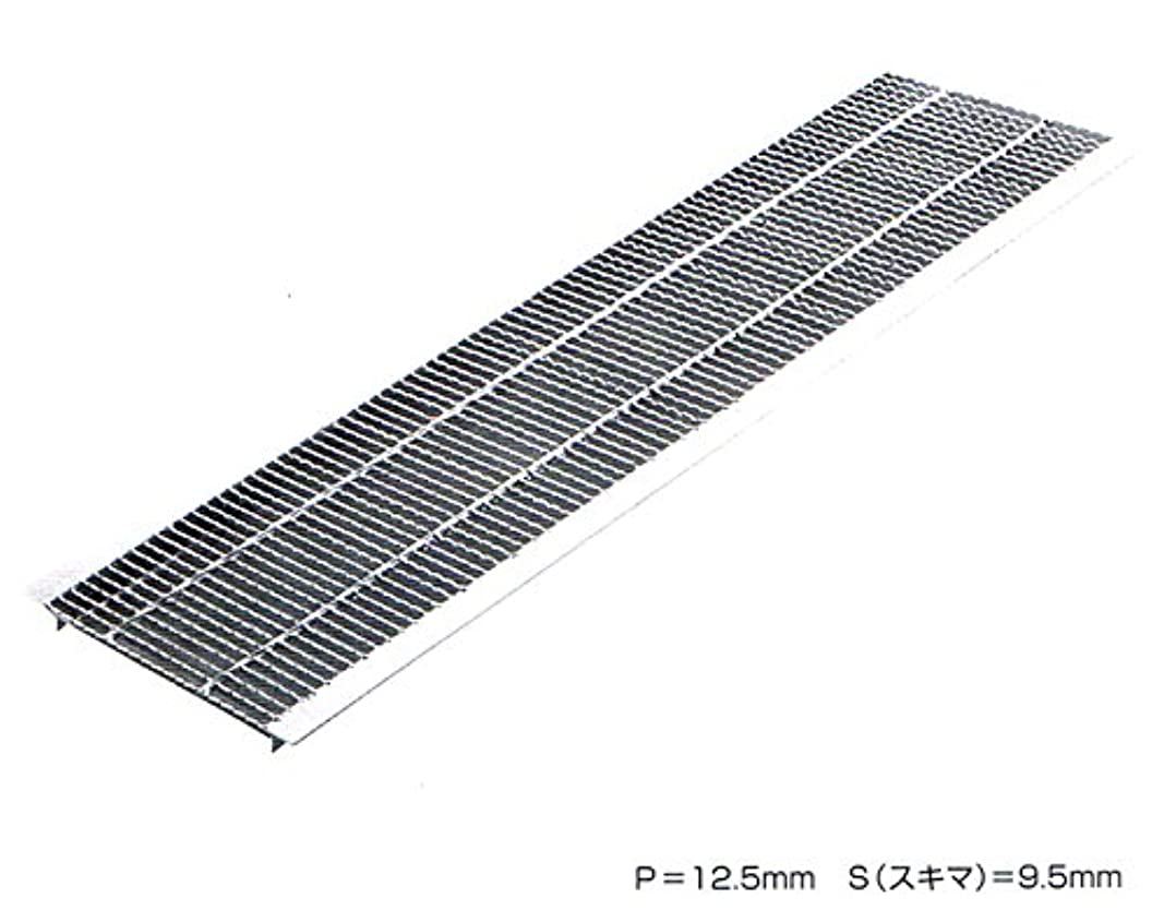 累積放映ティーンエイジャーU字溝用 グレーチング 細目タイプ 適用みぞ幅240mm (乗用車用) 長さ995mm 幅230mm 高さ19mm HUP-240-19