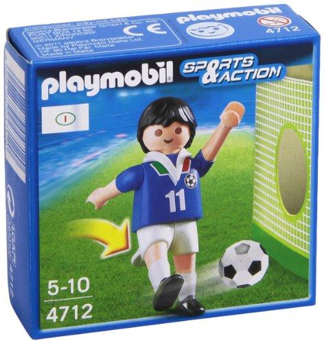 Playmobil Fútbol - Fútbol: Jugador Italia (4712)
