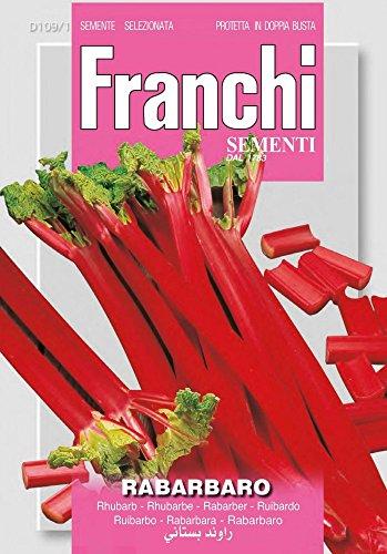 Franchi Sementi DBA109-1 Rhabarber (Rhabarbersamen)