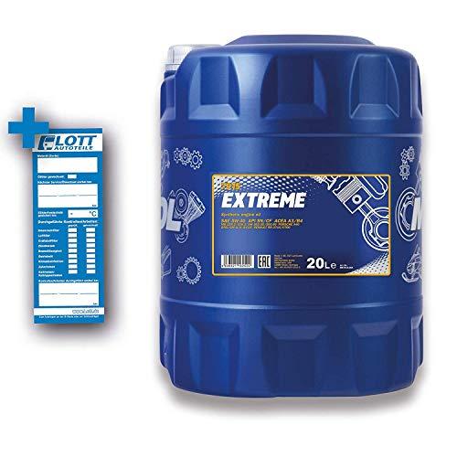 MANNOL Extreme 5W-40 API SN/CF Motorenöl, 20 Liter