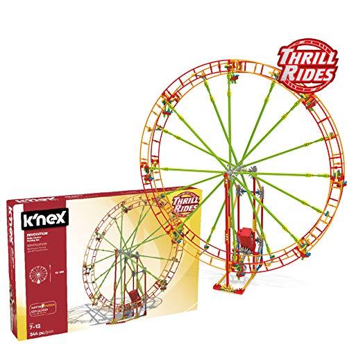 K'nex 41212 Thrill Rides. Noria Revolution. Juego de Constru