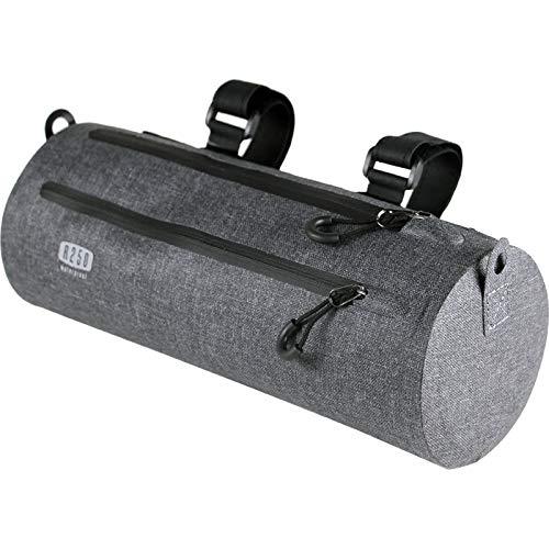 R250(アールニーゴーマル) 防水ドラム型フロントバッグ グレー