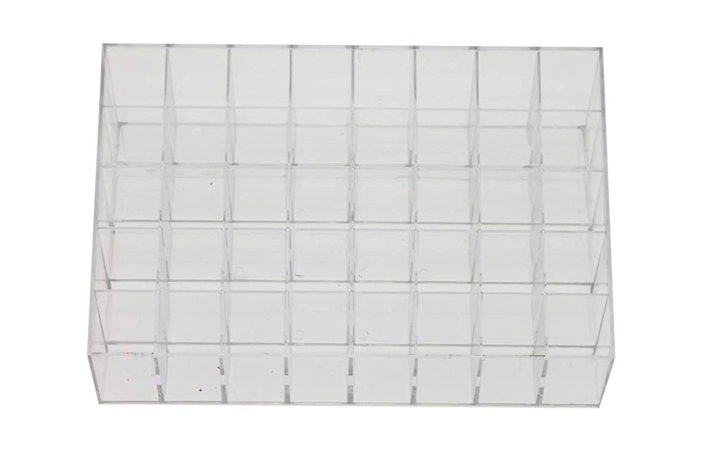 Olive-G アクリル コスメ 収納 ケース スタンド 化粧品 メイク 口紅 リップ 小物入れ 透明 40本