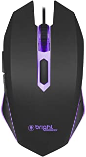 Mouse Gamer 0472 Led Azul Resolucao 800/1200/1600/2400 Dpi Plug and Play - Bright