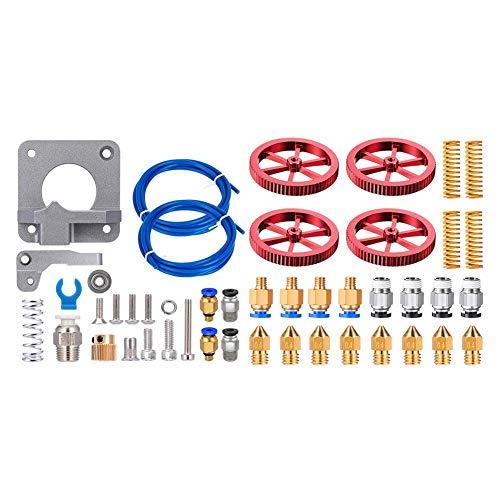 Mogzank 2 Set 3D Printer Accessories: 1 Set for Ender 3 Upgraded Version & 1 Set Leveling Nut Heat Bed Pressure Spring