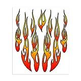 4R Quattroerre.it 32100 Sticker Aufkleber Flammen, 20 x 24 cm