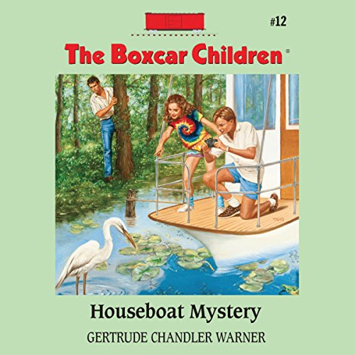 Houseboat Mystery audiobook cover art