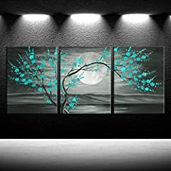 Size: 12x16inchx3pcs/set Ready to Hang,CUSTOM SIZE AVAILABLE High definition picture photo prints on canvas with vivid color on thick high quality canvas to create the look and feel of the original nature and masterpiece Our canvas is stretched tight...