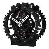 Double Gear Hollow Clock Creative Decorative Ornaments Alarm Clock Mechanical Appearance Gear Simple
