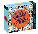 365 Smartest Things Ever Said! Page-A-Day Calendar 2020