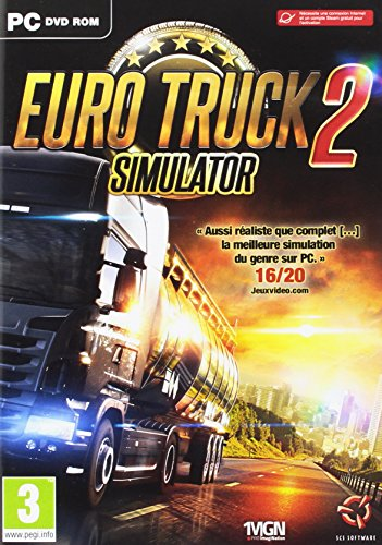 Just for Games Euro Truck 2 Simulator Standard Básico PC Inglés, Francés vídeo - Juego (PC, Simulación)