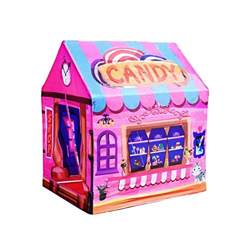 Tienda de campaña para niños de Navidad Casa de Juegos, Túnel de impresión de Gateo para bebés Juguetes de Bricolaje, Juego de Vestir para niños Juego de casa de Juegos, Casa de Tienda de Juguete par