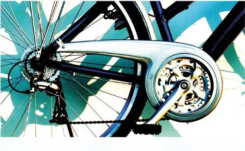 DEKAFORM Fahrrad Kettenschutz Performance Line ATB MTB 230-2 bis 48 Zähne*Silber