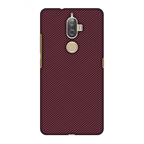 AMZER Slim Fit Handcrafted Designer Printed Snap On Hard Shell Case Back Cover with Screen Cleaning Kit Skin for Lenovo K8 Plus - Tawny Port Texture HD Color, Ultra Light Back Case