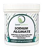 Special Ingredients Alginato di Sodio 100g Qualità Premio (Etichette e istruzioni Italiane)