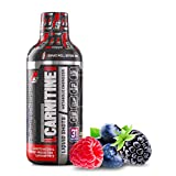 ProSupps® L-Carnitine 3000 Liquid Fat Burner, Stimulant Free Metabolic Enhancer, (31 Servings, Berry Flavor)