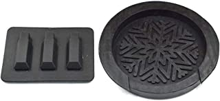Timiy Silicone Durable Rubber Acoustic Guitar Mute Silencer Sound Hole Cover Sound Buffer 1Pack