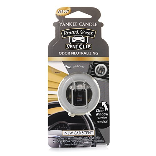 Yankee Candle Vent Clip HW New CAR Scent, Smart