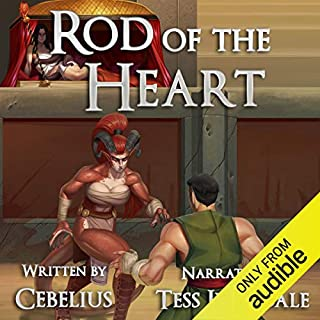 Page de couverture de Rod of the Heart