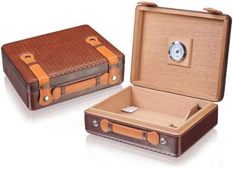 BINGFANG-W Cigar Box Discount mail order West Wooden Large 30 St online shop Capacity