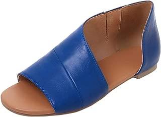 Melady Women Fashion Flat Summer Shoes
