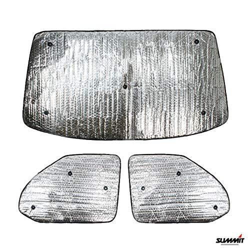 Summit SUM-1636 Juego de persianas térmicas de Lujo para Volkswagen T5 (2003-2016) 3 Piezas