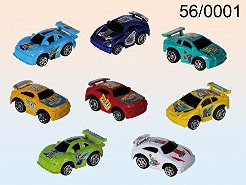 Genérico - Set 2 cochecitos de carreras propulsados colores surtidos