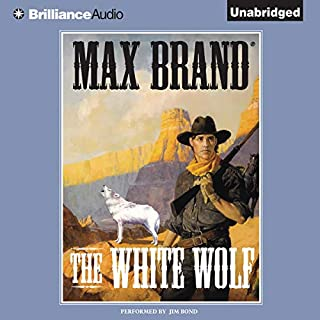 The White Wolf audiobook cover art