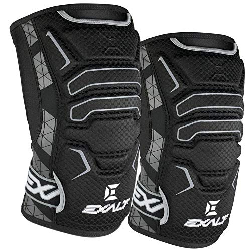 Exalt Paintball FreeFlex Knee Pads – Black – Small