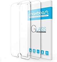 iPhone 8 7 Screen Protector, Maxboost (2 Packs) Tempered Glass Screen Protector For Apple iPhone 8 / iPhone 7 & iPhone 6/6s [3D Touch Compatible] 0.2mm Screen Protection Case Fit 99% Touch Accurate