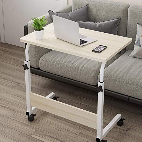 Escritorio de ordenador portátil portátil de altura ajustable para computadora de mesa de madera, mesita de noche, ideal para el hogar y la oficina