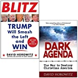 Blitz Trump Will Smash the Left and Win & Dark Agenda The War to Destroy Christian America By David Horowitz 2 Books Collection Set