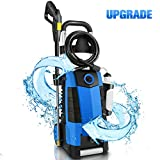 TEANDE 3800PSI Electric Pressure Washer, 3800PSI High Pressure Washer for Cars Fences Patios Garden Cleaning, 2.8GPM 1800W Power Washer