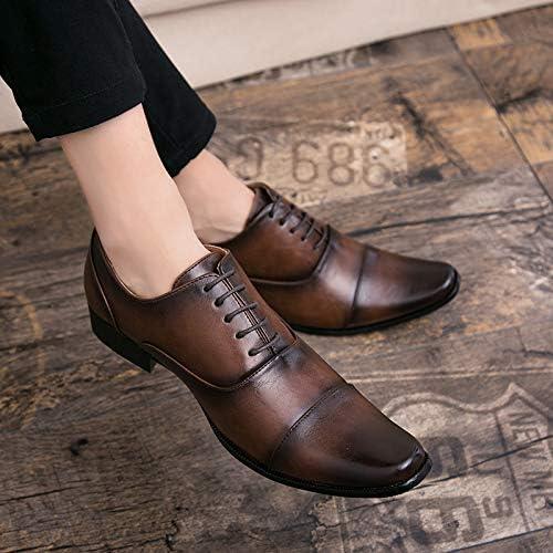 LOVDRAM Chaussures en Cuir pour pour pour Hommes Fait à La Main Rétro Designer De Mode De Luxe Décontracté Partie De Mariage De Danse Male Robe Chaussure en Cuir PU Hommes Hommes Oxford Chaussures pour Hommes fb9