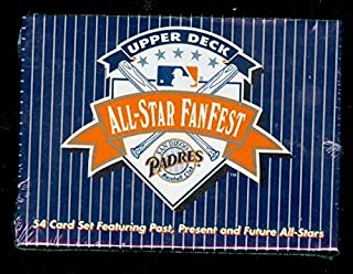 1992 Upper Deck Baseball All-Star FanFest Fan Fest Complete Box set All Star